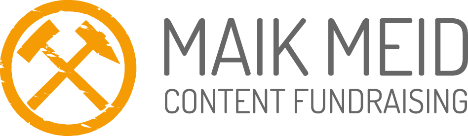 Logo Maik Meid Content Fundraising